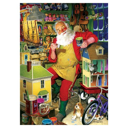 Cobble Hill Santa's Workshop 1000pc Puzzle - image 1 of 1