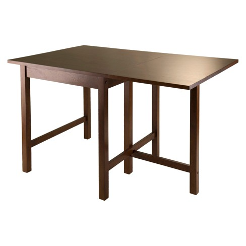 Dropleaf Dining Table Wood/Toasted Walnut - Winsome - image 1 of 2