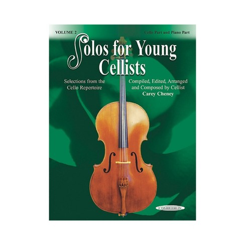 Alfred Solos for Young Cellists Cello Part and Piano Accompaniment Volume 2  Book