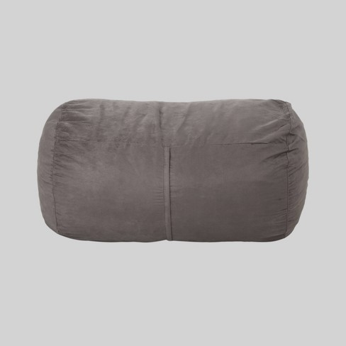 4'' Barry Traditional Suede Bean Bag Cover Only - Christopher Knight Home - image 1 of 4