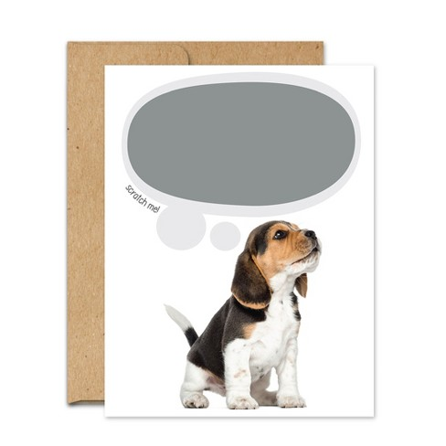 Just Because Dog Print Note Card - image 1 of 4