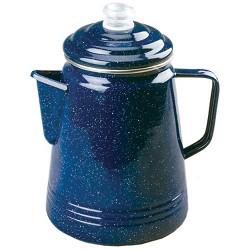 Coleman 14 Cup Enamelware Percolator Blue 2000016405