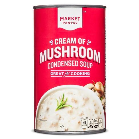 Cream of Mushroom Condensed Soup - 26oz - Market Pantry™ - image 1 of 2