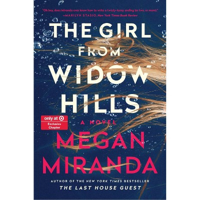 The Girl from Widow Hills - Target Exclusive Edition by Megan Miranda (Hardcover)