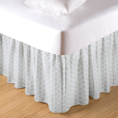 C&F Home Volterra Damask King Bed Skirt