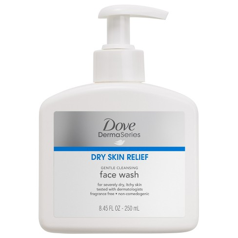 Unscented Dove DermaSeries Face Wash - 8.45oz - image 1 of 2