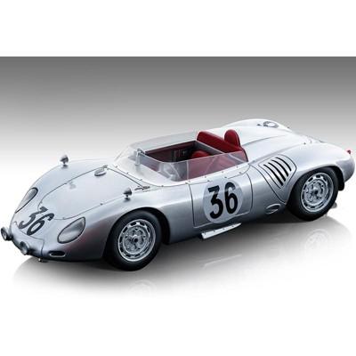 Porsche 718 RSK #36 C. Godin de Beaufort - Ch. Heins 24 Hours of Le Mans (1959) Ltd Ed 70 pcs 1/18 Model Car by Tecnomodel