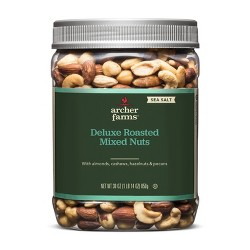 Sea Salt Roasted Deluxe Nuts - 30oz - Archer Farms™