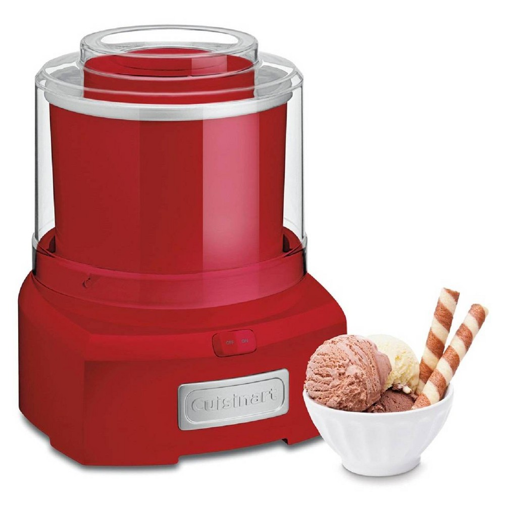 Image of Cuisinart Automatic Frozen Yogurt & Ice Cream Maker - Red ICE-21R