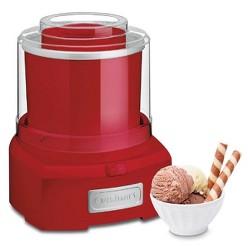 Cuisinart Automatic Frozen Yogurt - Ice Cream & Sorbet Maker - Red - ICE-21R