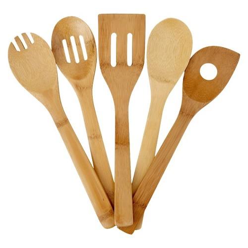 Good Cook Bamboo Tool Set - 5 piece