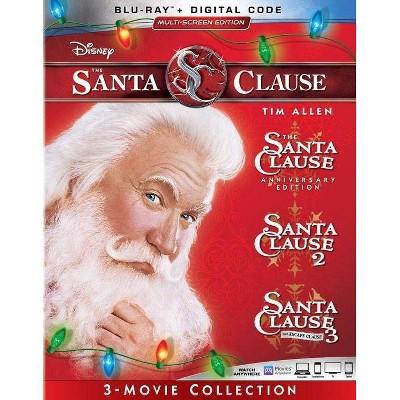 The Santa Clause 1-3 (Blu-ray)