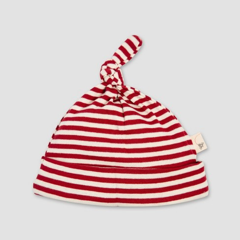 Burt s Bees Baby Organic Cotton Thermal Candy Cane Stripe Coverall   Hat Set  - Red. Shop all Burt s Bees Baby deadbd5065ff