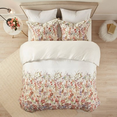 3pc Julia Cotton Printed  Duvet Cover Set