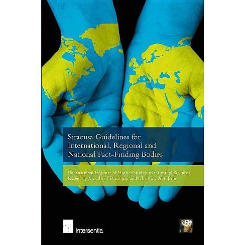 Siracusa Guidelines for International, Regional and National Fact-Finding Bodies - (Paperback) - image 1 of 1