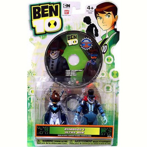 Ben 10 Ultimate Alien DVD Series Zombozo and Ultra Ben Action Figure 2-Pack - image 1 of 4