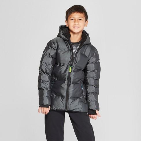 e0575a57e1cd Boys  Puffer Jacket - C9 Champion® Black   Target