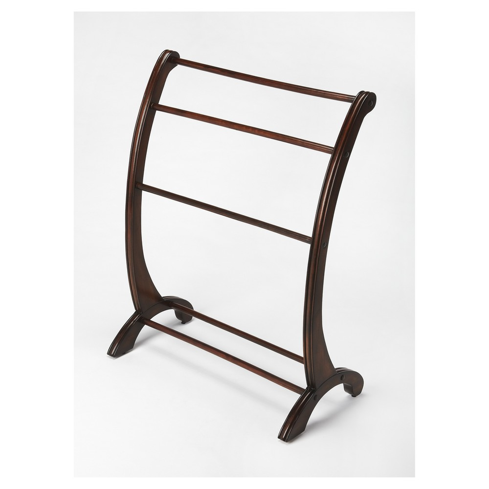 Nathaniel Blanket Stand - Plantation Cherry (Red) - Butler Specialty