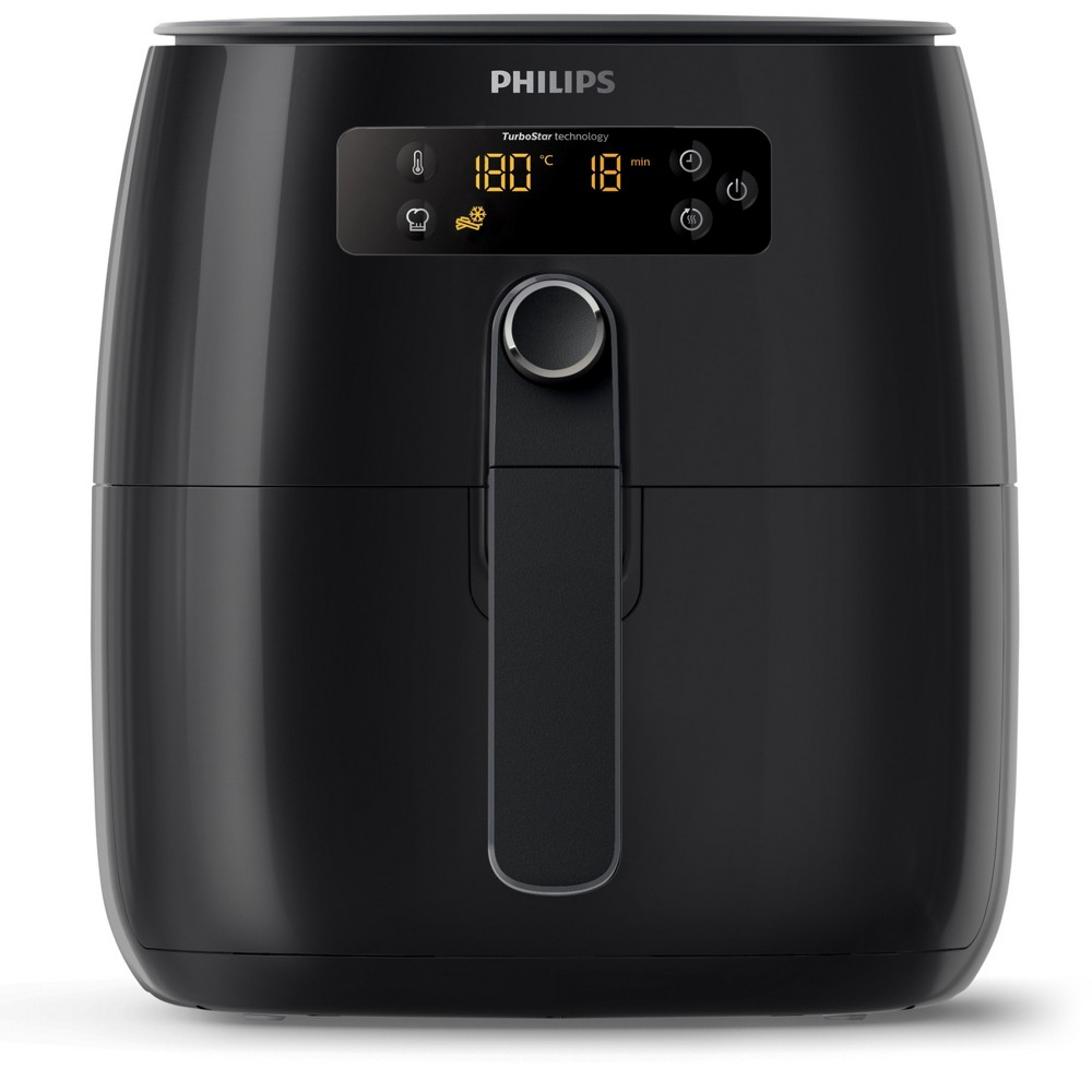 Philips 2.75qt TurboStar Digital Airfryer – HD9641/96, Black 53747186