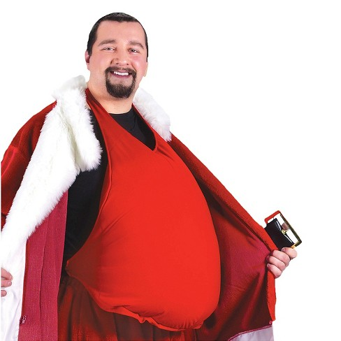 Santa Belly Red - One Size - image 1 of 2