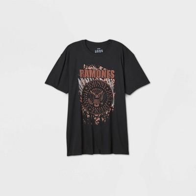 Women's Ramones Short Sleeve Graphic T-Shirt - Black