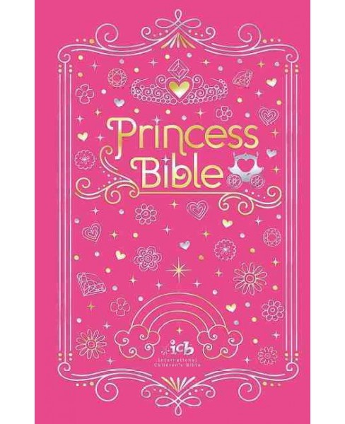 Princess Bible : International Children's Bible, With Coloring Sticker Book (Hardcover) - image 1 of 1