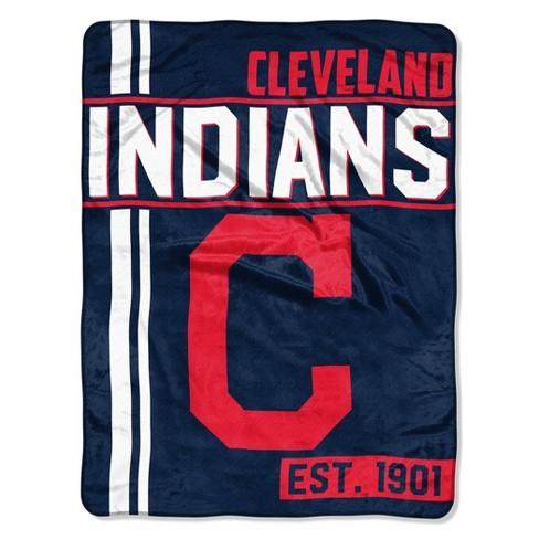 MLB Cleveland Indians Micro Fleece Throw Blanket - image 1 of 1