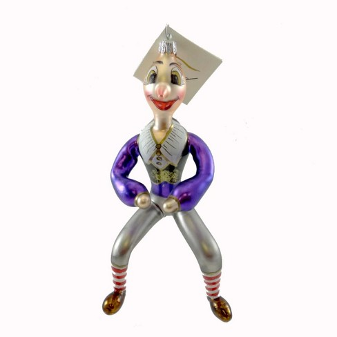 Laved Italian Ornaments Hunchback Clown Circus  -  Tree Ornaments - image 1 of 2