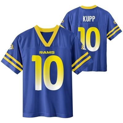 NFL Los Angeles Rams Boys' Cooper Kupp Short Sleeve Jersey