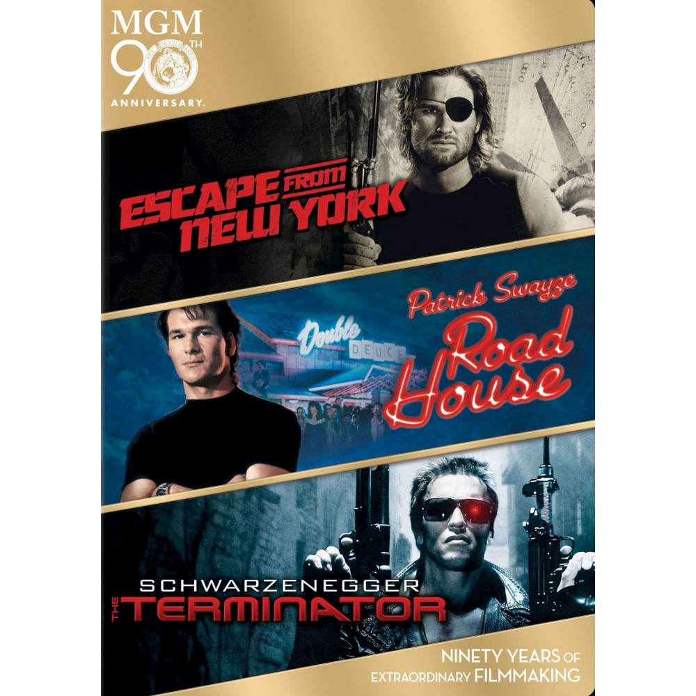 Escape from new york/Road house/Termi (Dvd)