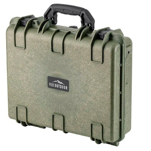 Monoprice Weatherproof Hard Case - 19in x 16in x 6in, OD Green With Customizable Foam, Shockproof, IP67 - image 1 of 4