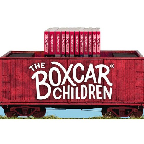 The Boxcar Children Bookshelf (Books #1-12) - (Boxcar Children Mysteries) (Mixed media product) - image 1 of 1