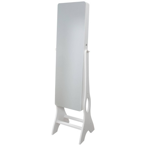 Ruby Cash Mirrored Jewelry Armoire White Target