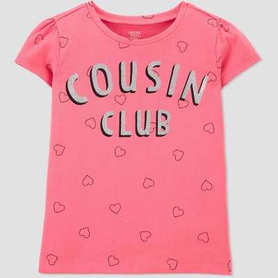 Baby Girls' Cousin Club T-Shirt - Just One You® made by carter's Pink 18M