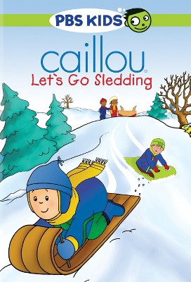 Caillou: Let's Go Sledding (DVD)