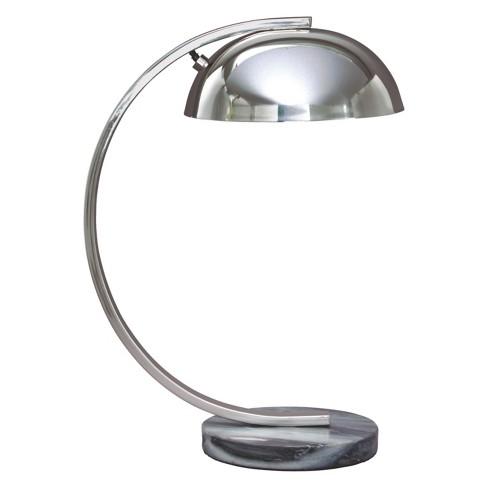Haden Metal Desk Lamp Chrome  - Signature Design by Ashley - image 1 of 2