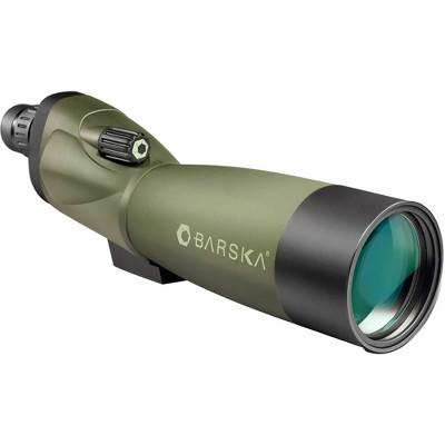 Barska 20-60x60mm WP Blackhawk Green Lens Straight Scope with Tripod