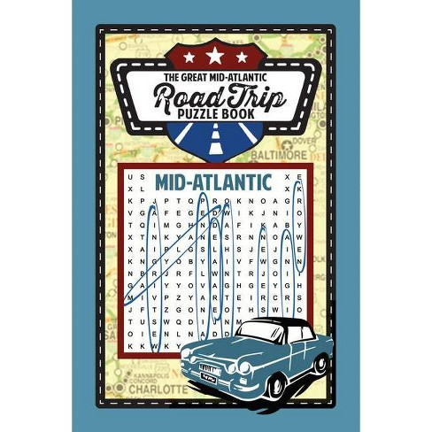 Great American Mid-Atlantic Road Trip Puzzle Book - (Great American Puzzle Books) by  Applewood Books - image 1 of 1