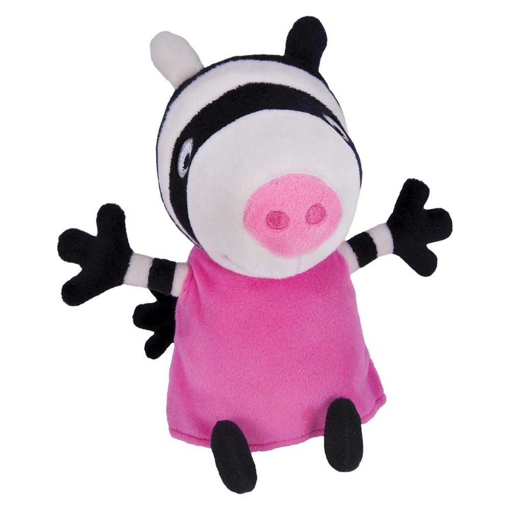 Peppa Pig Plush with Sounds - Zoe Zebra