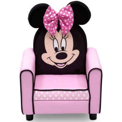 Disney Minnie Mouse Figural Upholstered Kids' Chair - Delta Children