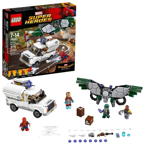 wholesale dealer 2280f e49d2 LEGO® Marvel Super Heroes Spider-Man Beware The Vulture 76083   Target