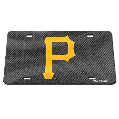MLB Pittsburgh Pirates Carbon Front Plate - image 1 of 1