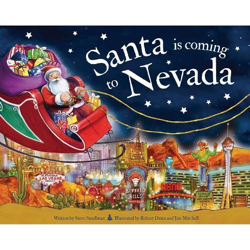 Santa Is Coming to Nevada - (Santa Is Coming...) 2 Edition by  Steve Smallman (Hardcover) - image 1 of 1