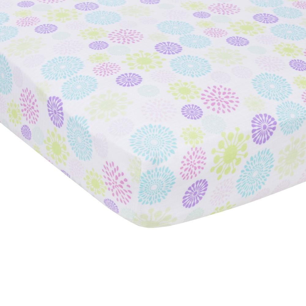 Image of MiracleWare Color Bursts Muslin Crib Sheet