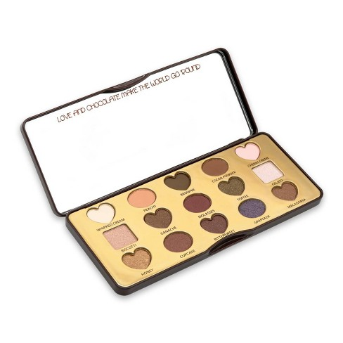CAI Dark Chocolate Eyeshadow Palette - 15 Shades - image 1 of 3