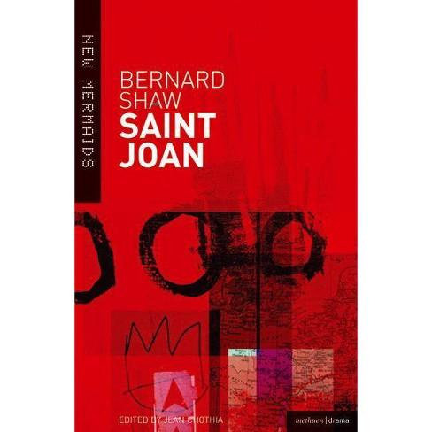 Saint Joan - (New Mermaids) by  Bernard Shaw (Paperback) - image 1 of 1