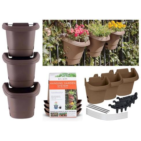 3pc Hanging Garden Planter System - Bloem - image 1 of 4