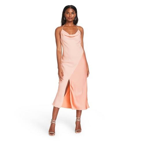 Women's Slip Dress - CUSHNIE for Target (Regular & Plus) Blush Pink - image 1 of 4