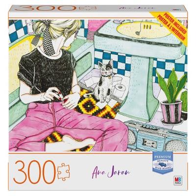 Milton Bradley Blue Board: Me Time Jigsaw Puzzle - 300pc