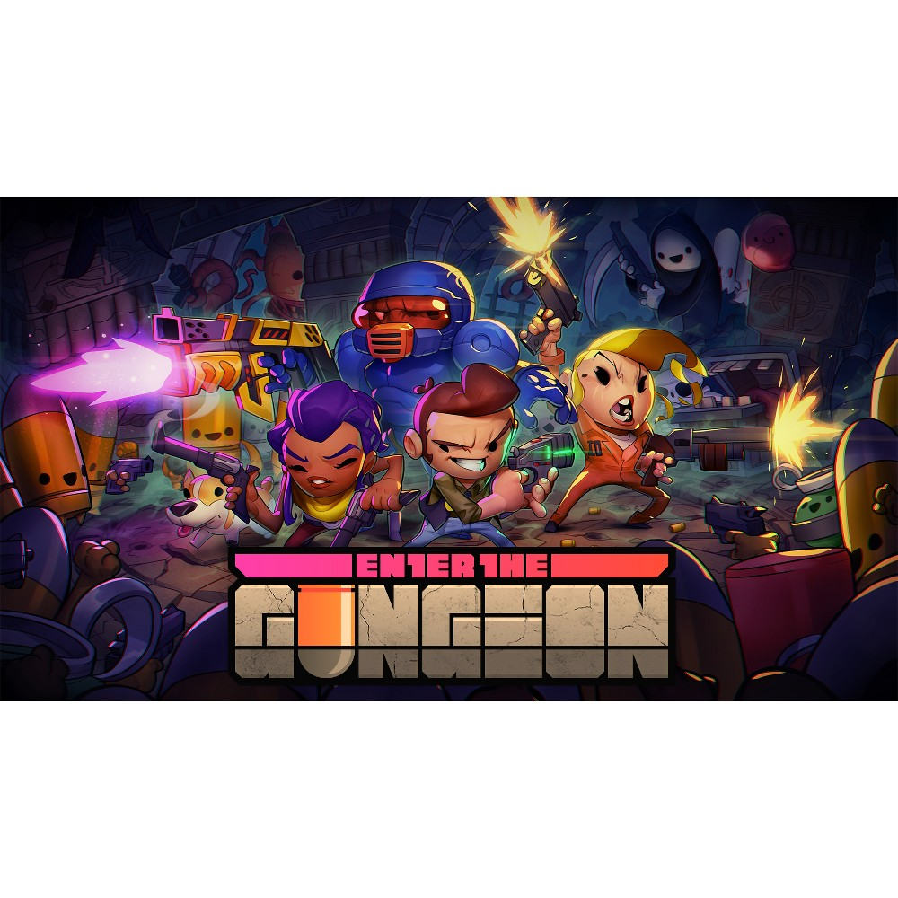 Enter the Gungeon - Nintendo Switch (Digital) How download codes work: You'll receive an email with a download code and instructions on how to redeem your purchase directly on your console or online through your console's website.